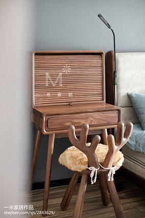 悠雅123平现代四居卧室设计案例