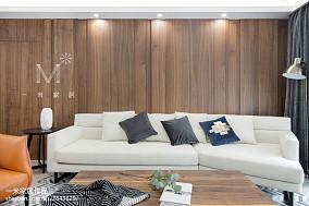 明亮159平现代四居客厅实景图片