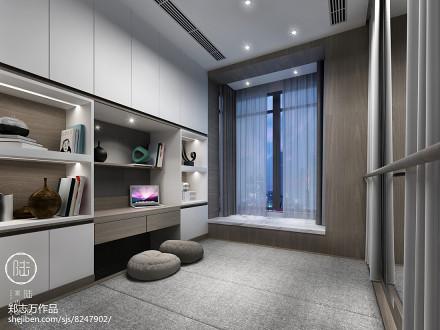精选三居休闲区现代装饰图片大全功能区