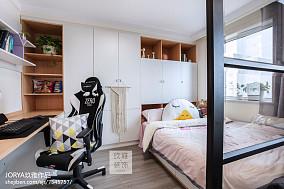 可爱北欧二居儿童房设计图二居北欧极简家装装修案例效果图