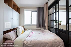 可爱北欧二居儿童房设计图片二居北欧极简家装装修案例效果图
