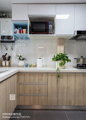 可爱北欧二居厨房设计图片