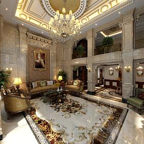 精选140平米欧式别墅客厅实景图片大全