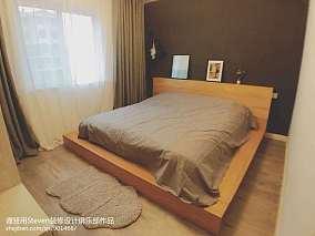 热门面积80平宜家二居卧室装修图