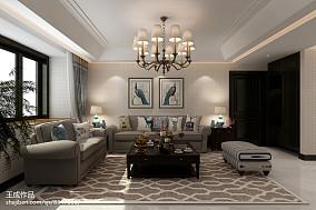 北欧装修设计沙发背景墙图片