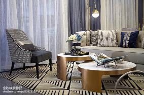 2018客厅简欧装修图片大全样板间北欧极简家装装修案例效果图