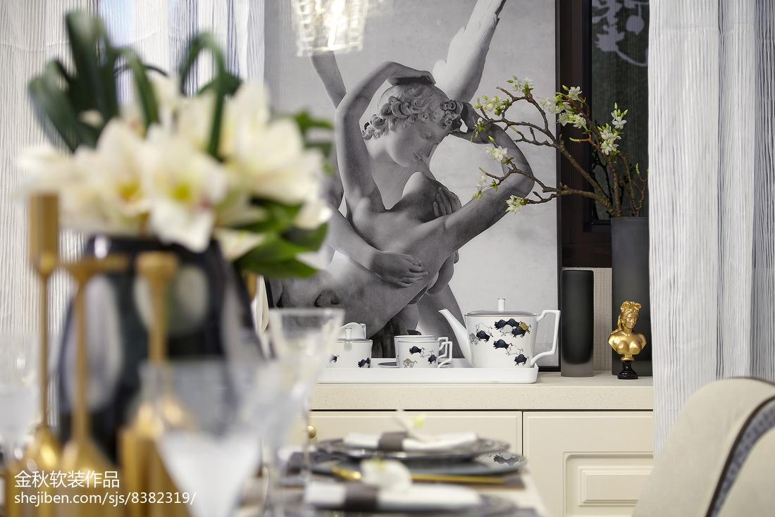 精美客厅简欧装饰图北欧极简设计图片赏析