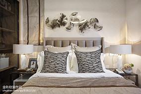 2018卧室简欧装饰图片样板间北欧极简家装装修案例效果图