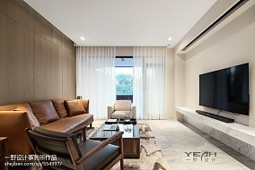 精致99平中式三居客厅装修效果图