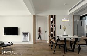 悠雅102平现代三居装潢图