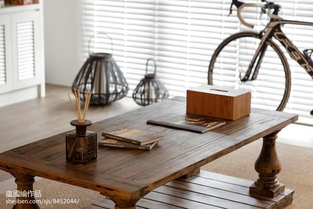 2018精选97平米三居客厅美式效果图片欣赏设计图片赏析