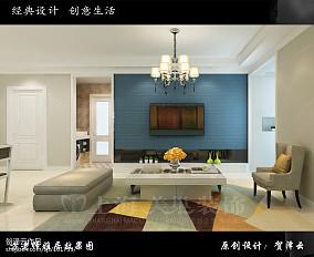 浪漫三室一厅婚房效果图