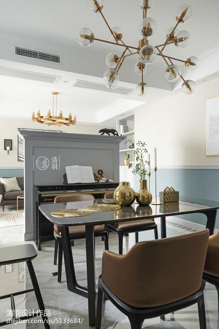 精选四居餐厅北欧装修图片