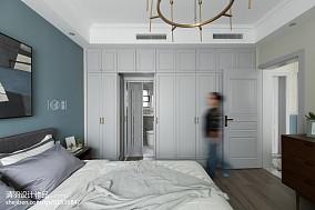 轻奢126平北欧四居卧室设计美图