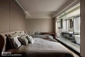 优美718平现代别墅卧室效果图片大全别墅豪宅现代简约家装装修案例效果图