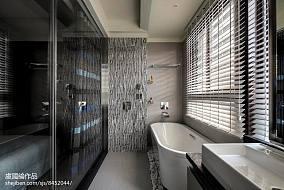 精美487平现代别墅卫生间装饰图片别墅豪宅现代简约家装装修案例效果图