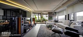 明亮380平现代别墅客厅装修效果图别墅豪宅现代简约家装装修案例效果图