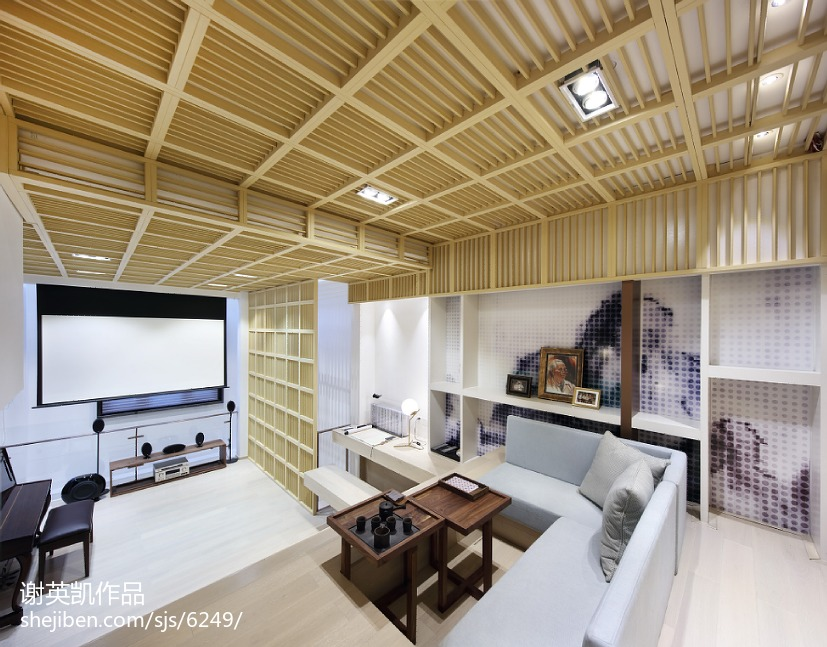 悠雅81平现代复式休闲区设计图客厅现代简约客厅设计图片赏析