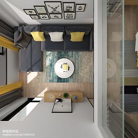 低调70多平米的房子效果图