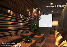 高档装修别墅客厅设计效果图片