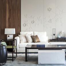 质朴511平中式别墅客厅装修效果图