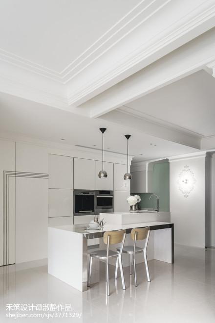精选大小104平现代三居餐厅实景图片欣赏厨房