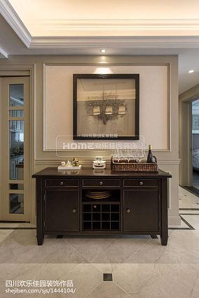 精美面积85平美式二居餐厅装修实景图片大全二居美式经典家装装修案例效果图