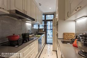 华丽66平美式二居案例图二居美式经典家装装修案例效果图