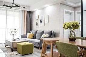精美99平米三居客厅宜家装修效果图片大全