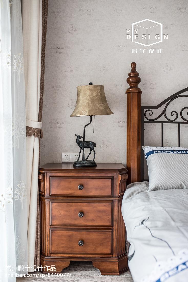平米三居卧室宜家装修设计效果图片欣赏卧室现代简约卧室设计图片赏析