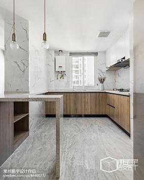2018面积92平北欧三居厨房装修图