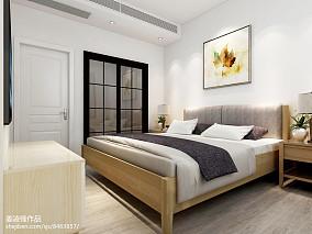 精选90平米二居卧室北欧装修图片大全