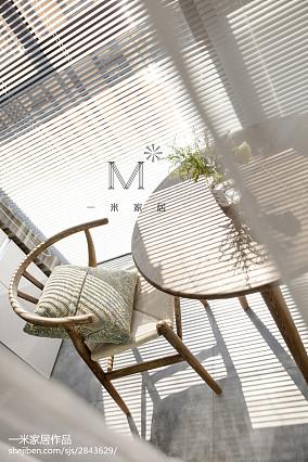 热门二居阳台北欧装修效果图片欣赏家装装修案例效果图