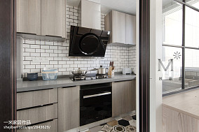 热门二居厨房北欧装修效果图片大全二居北欧极简家装装修案例效果图