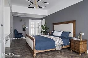 精致85平混搭二居设计美图卧室潮流混搭设计图片赏析