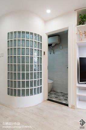 精美简约小户型卫生间装饰图