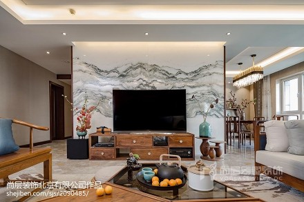 2019803平中式别墅装修设计图