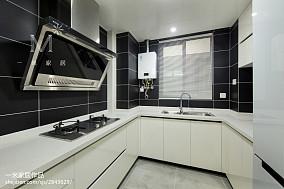 2018精选北欧二居厨房设计效果图二居北欧极简家装装修案例效果图