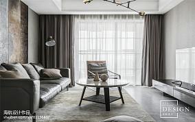 热门105平大小客厅三居现代实景图片欣赏