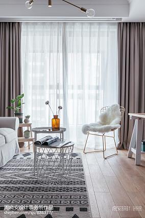 精致88平北欧三居客厅设计图