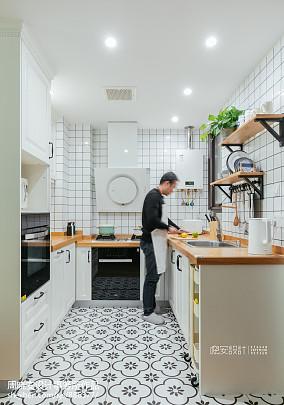 清新北欧三居厨房设计图片