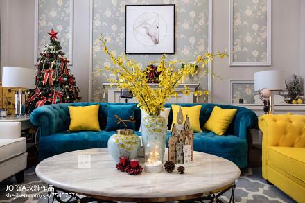 温馨230平美式别墅美图别墅豪宅美式经典家装装修案例效果图