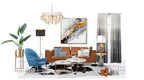 |软装案例|ChristmasDay!家居装饰小技能getMay黄**客厅2图美式经典客厅设计图片赏析