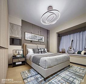 大气329平北欧样板间卧室设计案例样板间北欧极简家装装修案例效果图