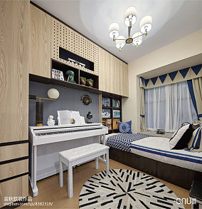 精美北欧卧室装修图片欣赏样板间北欧极简家装装修案例效果图