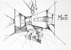美式厨房微波炉置物架效果图