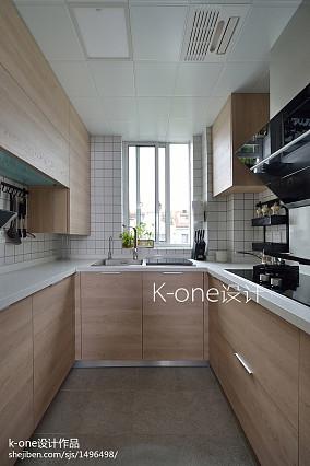 明亮45平简约复式厨房设计案例