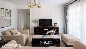 温馨130平美式三居装饰图