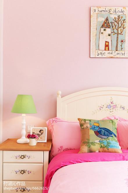 热门简欧二居卧室装修图片欣赏卧室