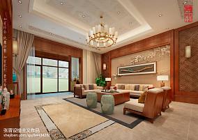 精美中式别墅客厅装修图